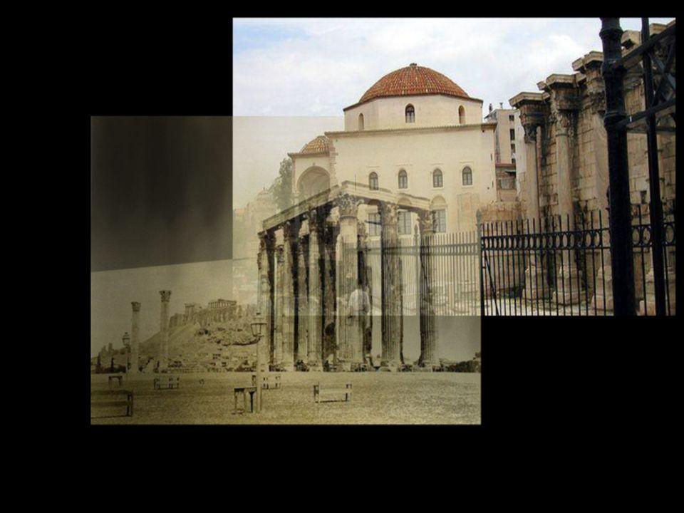 Σύμφωνα με την παράδοση και όπως αναφέρει το Χρονικό του Ανθίμου, ο Τζισταράκης χρησιμοποίησε ένα από τους κίονες του Ναού του Ολυμπίου Διός για να φτιάξει ασβέστη για την κατασκευή του κτιρίου.