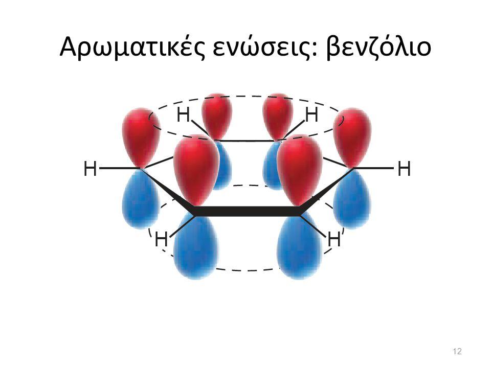 Αρωματικές ενώσεις: βενζόλιο βενζόλιο 12