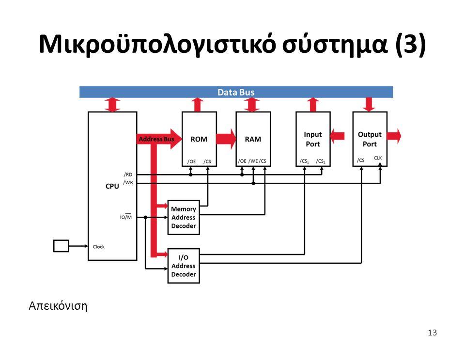 Απεικόνιση Μικροϋπολογιστικό σύστημα (3) 13