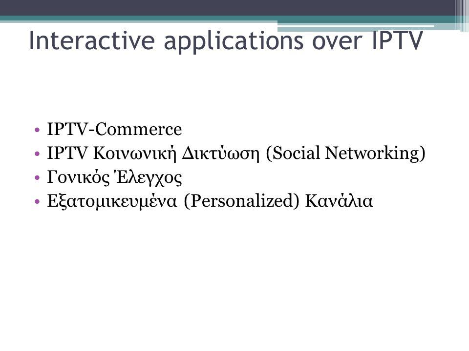 Σκοπός STB: Πρόσβαση σε περιεχόμενο ψηφιακού περιβάλλοντος Δίκτυα που χρησιμοποιεί: Συστήματα καλωδιακής ΤV Δορυφορικά δίκτυα Επίγεια ή ασύρματα δίκτυα Τηλεπικοινωνιακά δίκτυα Κινητά ή κυψελοειδή δίκτυα Ασύρματα hotspot δεδομένων