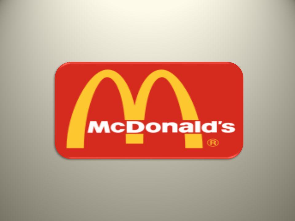H εταιρεία McDonald s (NYSE: MCD) είναι η μεγαλύτερη αλυσίδα εστιατορίων ταχείας εστίασης (fast food) στον κόσμο.