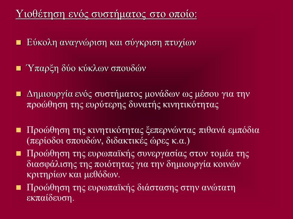 Η Σύνοδος Κορυφής στην Πράγα 18-19 Μαΐου 2002 Συμμετέχουν 32 υπουργοί Παιδείας (29 που είχαν υπογράψει την Μπολόνια και οι υπουργοί της Κύπρου, της Κροατίας και της Τουρκίας) δεν έγινε με σκοπό να αλλάξει τη Διακήρυξη της Μπολόνια ούτε για να συμφωνηθεί ή υπογραφτεί κάτι διαφορετικό.