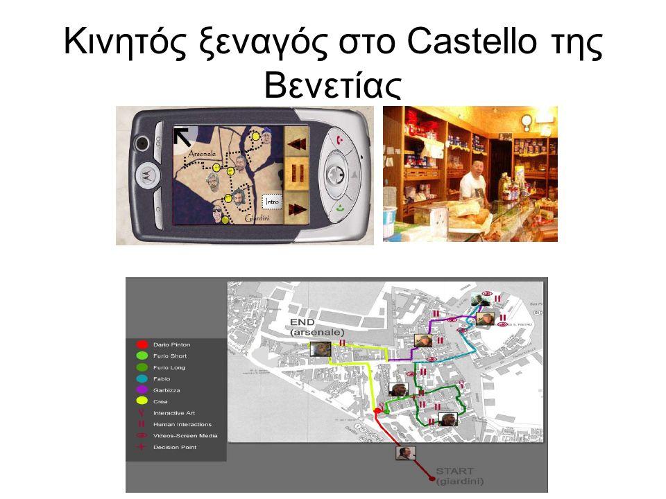 Κινητός ξεναγός στο Castello της Βενετίας