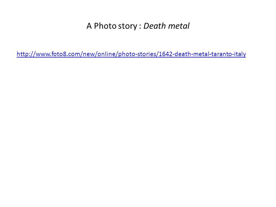 A Photo story : Death metal http://www.foto8.com/new/online/photo-stories/1642-death-metal-taranto-italy