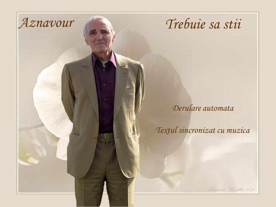1 X Aznavour Il faut savoir Θα πρέπει να ξέρεις