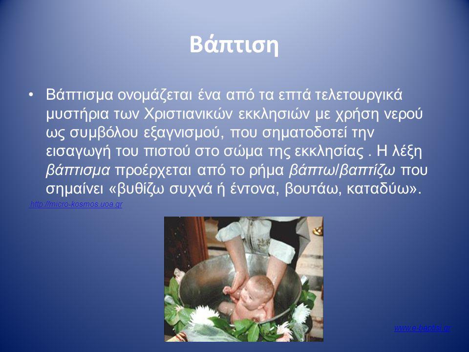 Χριστιανισμός Αγιασμός Το καθαρό και διάφανο νερό συνδέθηκε στενά με τη λατρεία του χριστιανισμού. Είναι ο αγιασμός που φυλάμε δίπλα στο εικονοστάσι.