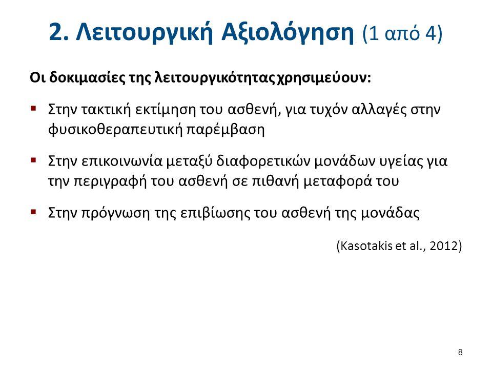 Προτεινόμενη βιβλιογραφία (4 από 4) Vitacca M, Paneroni M, Bianchi L, et al.