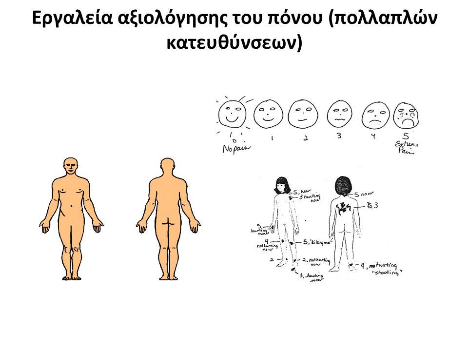 Εργαλεία αξιολόγησης του πόνου (πολλαπλών κατευθύνσεων)