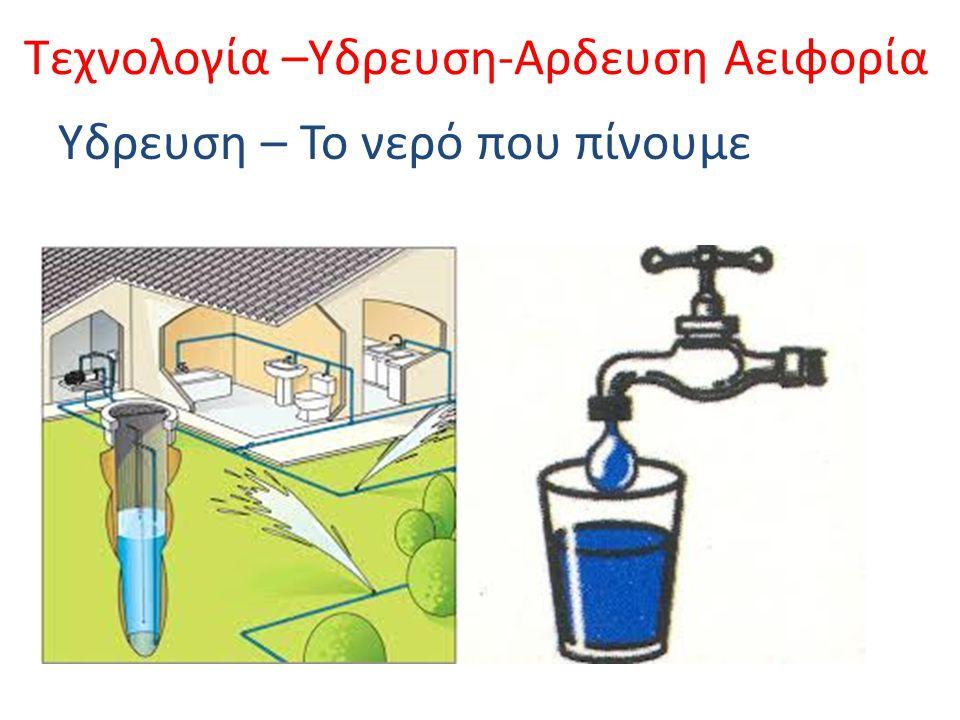 Τεχνολογία –Υδρευση-Αρδευση Αειφορία Αρδευση – Το νερό που ποτίζουμε