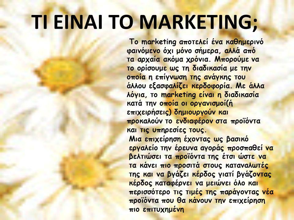 Το marketing αποτελεί ένα καθημερινό φαινόμενο όχι μόνο σήμερα, αλλά από τα αρχαία ακόμα χρόνια.