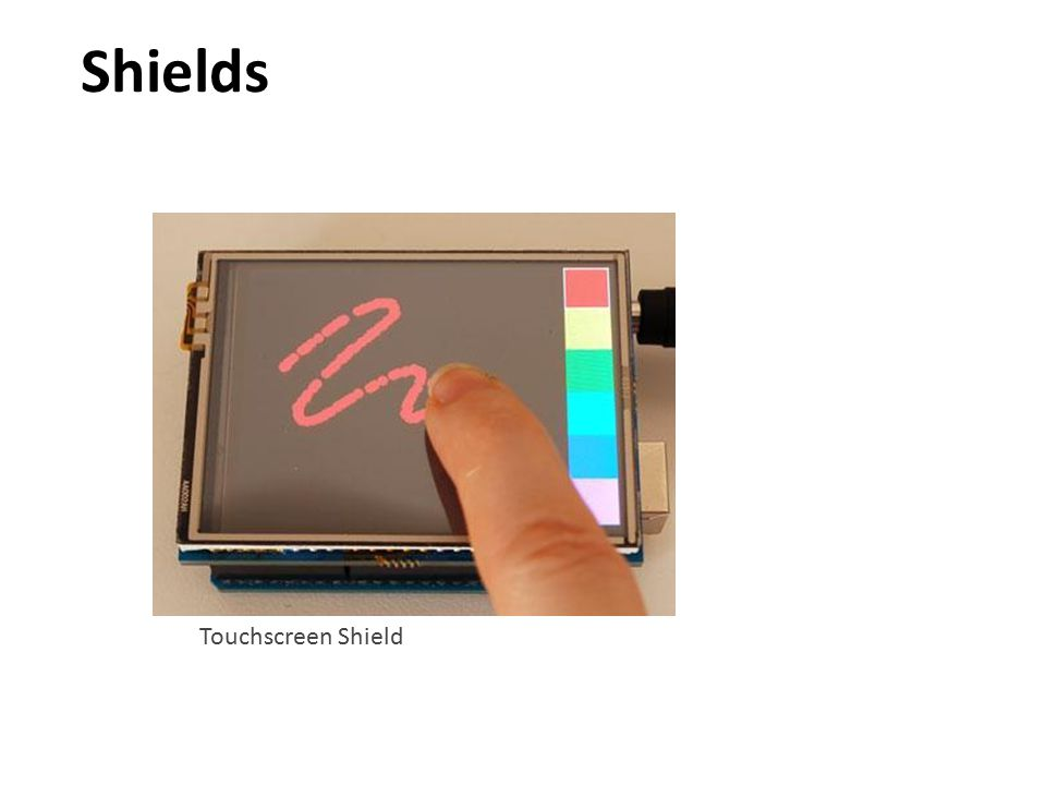 Touchscreen Shield Shields