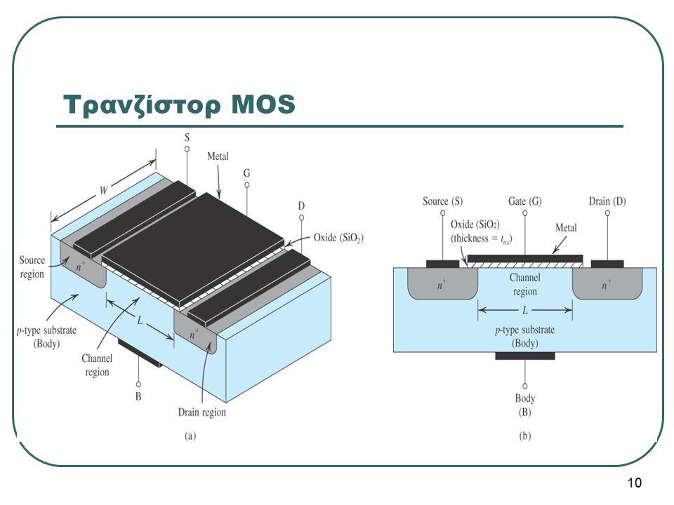 Τρανζίστορ MOS 10