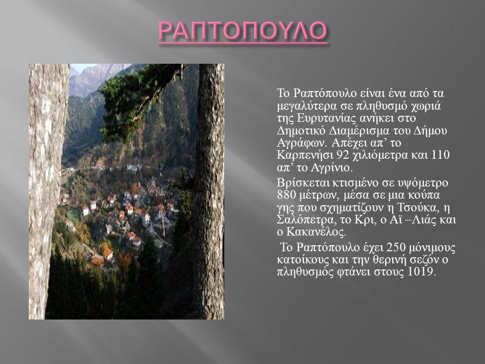 Το χωριό διαθέτει τις ακόλουθες υπηρεσίες :  Κέντρο Εξυπηρέτησης Πολιτών ( ΚΕΠ ) για την διευθέτηση όλων των θεμάτων των πολιτών.