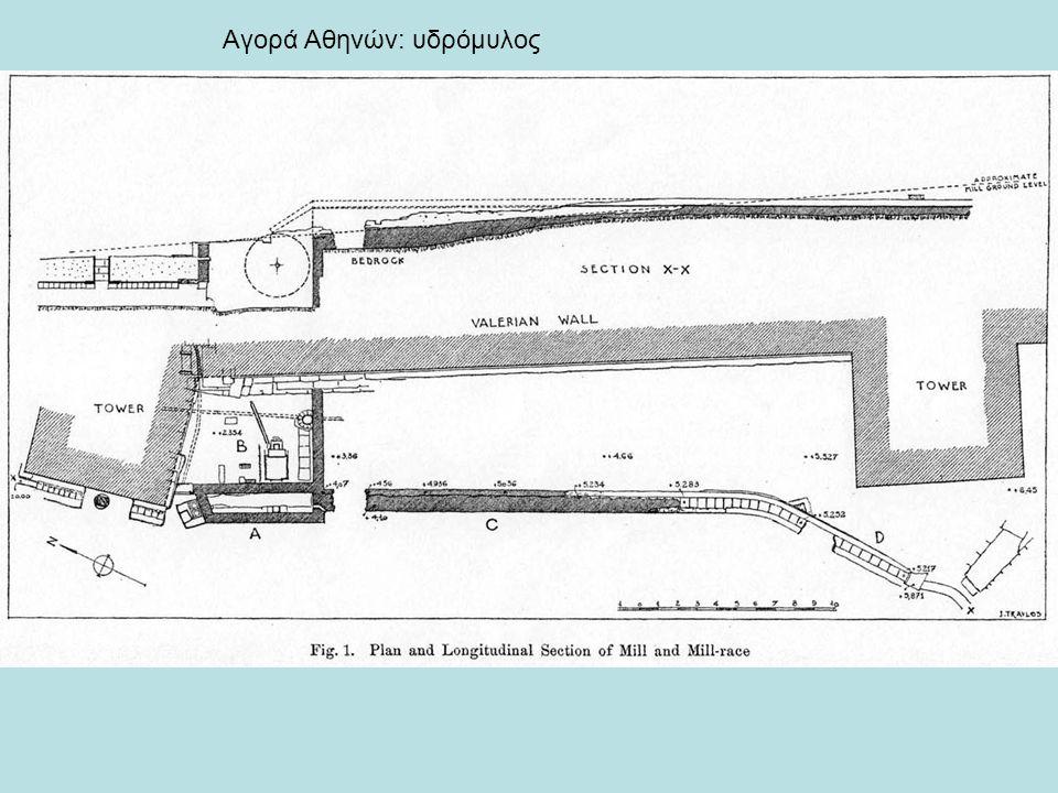 Αγορά Αθηνών: υδρόμυλος