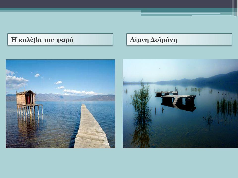 Η καλύβα του ψαρά Λίμνη Δοϊράνη