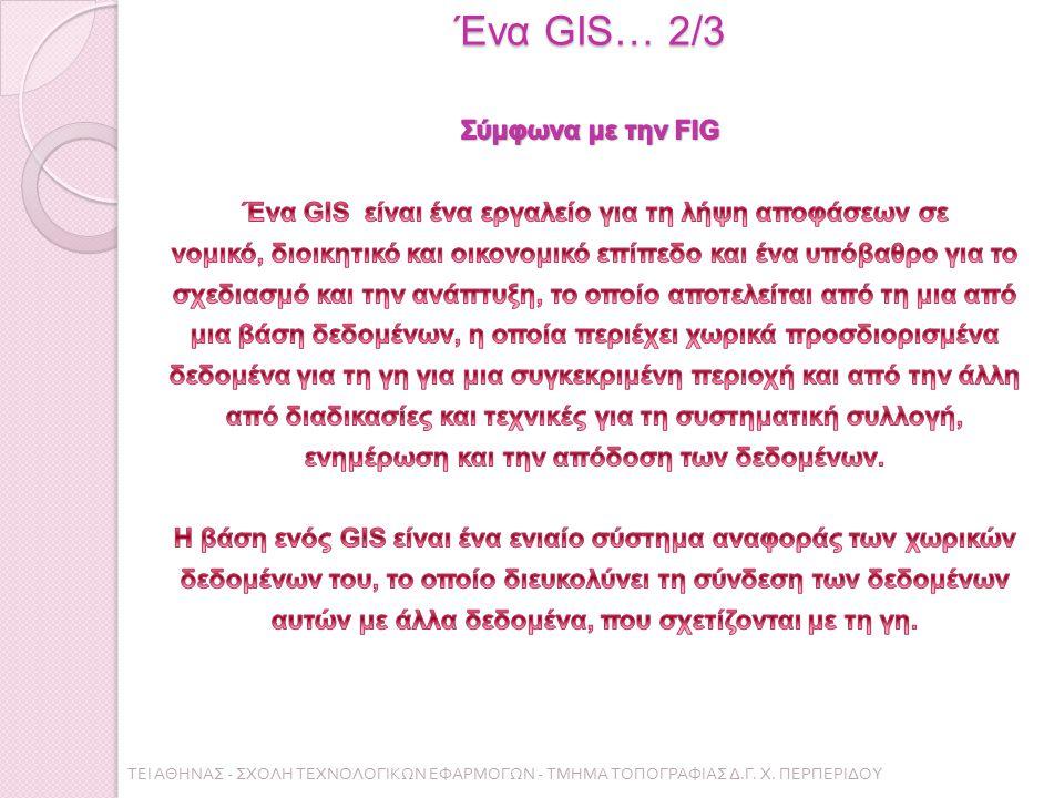Ένα GIS… 2/3