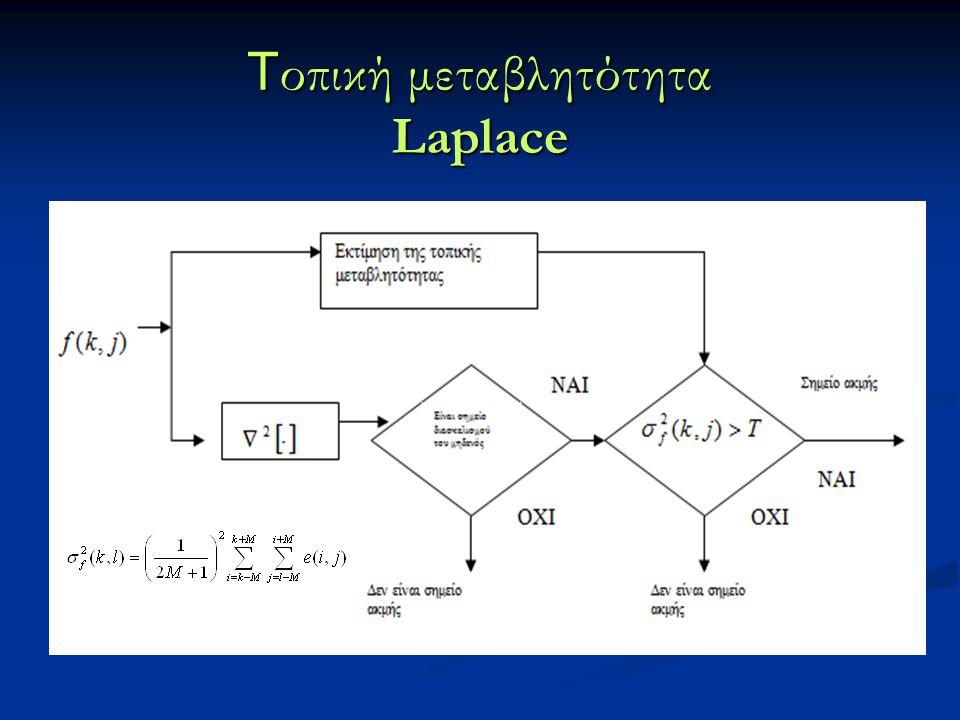 T οπική μεταβλητότητα Laplace