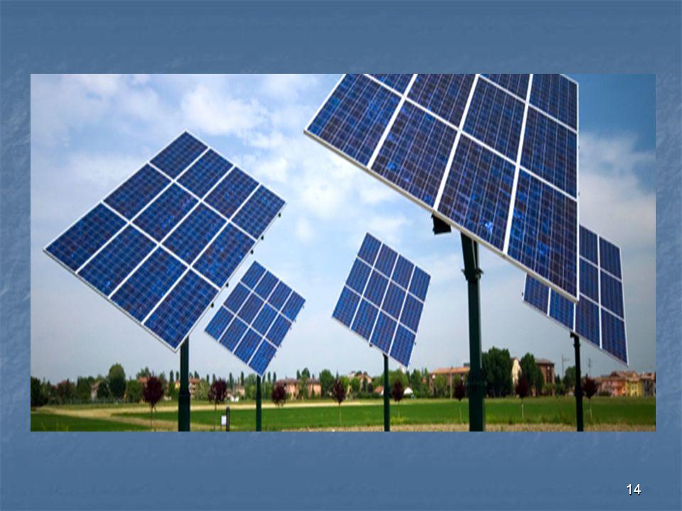13 Συλλογή του ηλιακού φωτός Ένα σημαντικό πρόβλημα που αντιμετωπίζει ο σχεδιαστής μιας διάταξης είναι το που θα στερεωθούν οι βασικές μονάδες, αν θα