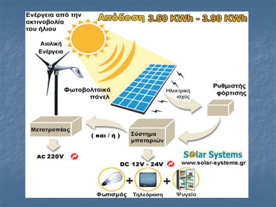 4 Τα Φ/Β πλαίσια έχουν ως βασικό μέρος το ηλιακό στοιχείο (solar cell) που είναι ένας κατάλληλα επεξεργασμένος ημιαγωγός μικρού πάχους σε επίπεδη επιφ
