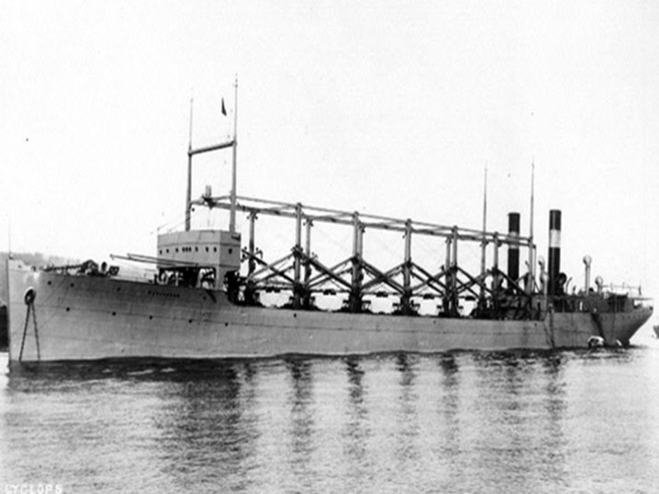 Το πλοίο «Cyclops» κατά τη διάρκεια του Πρώτου Παγκοσμίου Πολέμου πήρε την εντολή να καταπλεύσει στη Βραζιλία για ανεφοδιασμό των βρετανικών πλοίων.Το πλοίο, επιστρέφοντας από το Ρίο ντε Τζανέιρo έκανε μια μικρή στάση στα νησιά Μπαρμπέιντος.