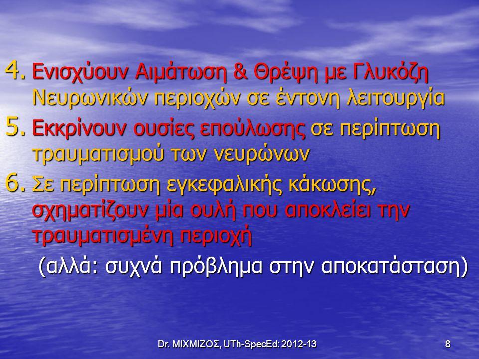 Ρόλος των Αστρογλοίων Dr. ΜΙΧΜΙΖΟΣ, UTh-SpecEd: 2012-13 9