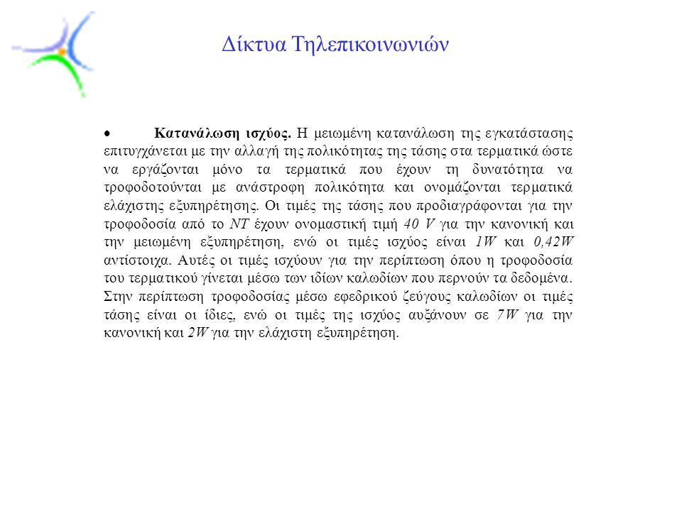 Slide 4 Δίκτυα Τηλεπικοινωνιών 1.