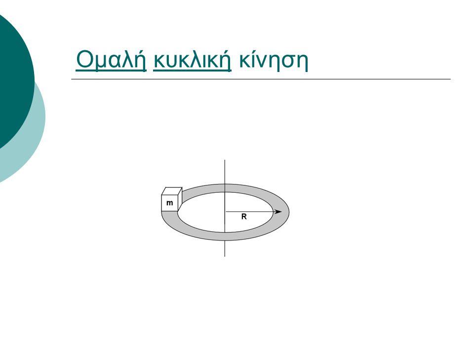 ΟμαλήΟμαλή κυκλική κίνησηκυκλική