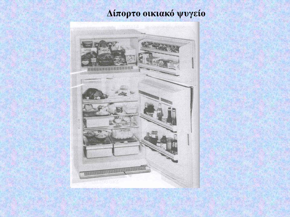Είναι ο πιο συνηθισμένος τύπους οικιακού ψυγείου.