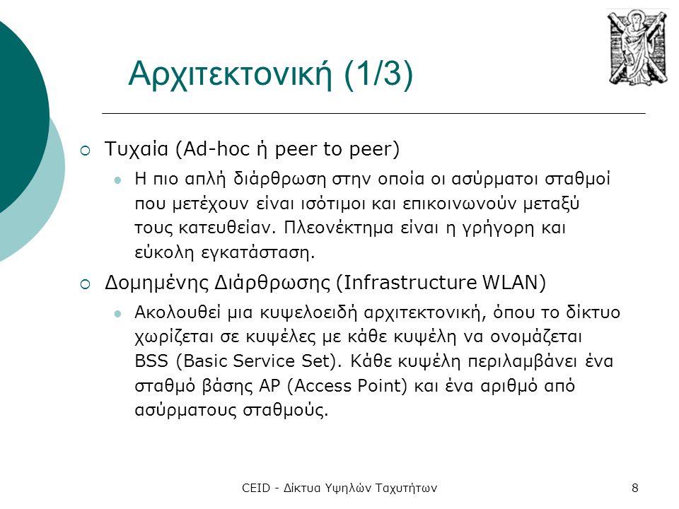 CEID - Δίκτυα Υψηλών Ταχυτήτων29 Το Όραμα των Δικτύων 4G