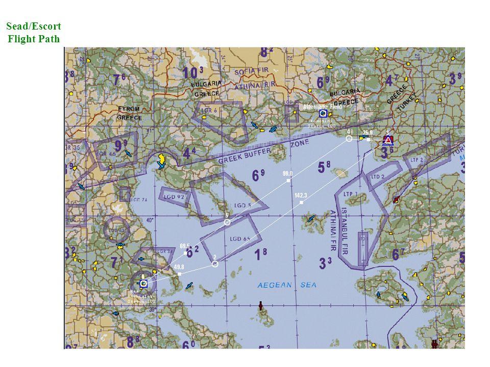 Sead/Escort Flight Path