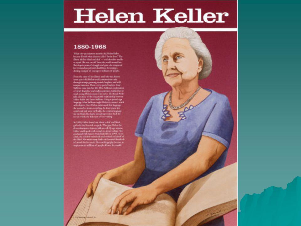  Η Έλεν Άνταμς Κέλλερ (27 Ιουνίου 1880-1 Ιουνίου 1968) ήταν Αμερικανίδα συγγραφέας, λέκτορας και ακτιβίστρια.