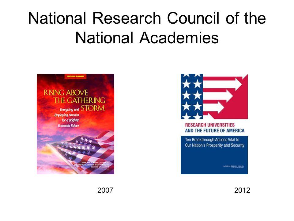 HΠA: δέκα ρηξικέλευθες δράσεις ζωτικής σημασίας για την ευημερία και την ασφάλεια του έθνους.