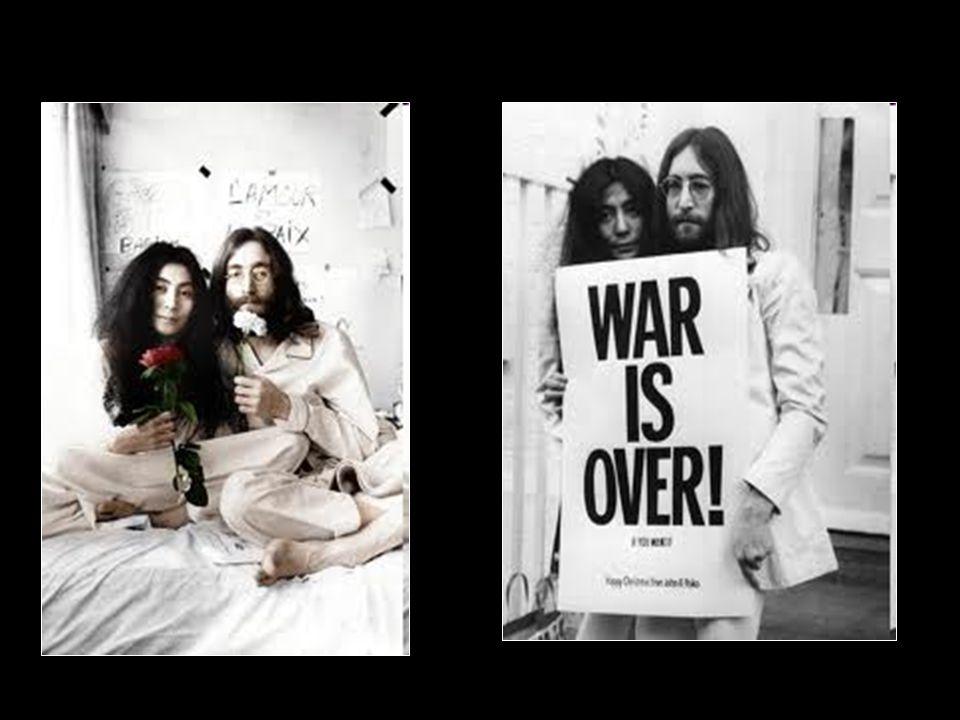 Κατά τη διάρκεια του πολέμου του Βιετνάμ, το 1969, ο John Lennon και Yoko Ono Έμειναν δύο εβδομάδες βίου Bed-in για την Ειρήνη το οποίο ήταν μη-βίαιος τρόπος διαμαρτυρίας για τον πόλεμο και την προώθηση της ειρήνης.