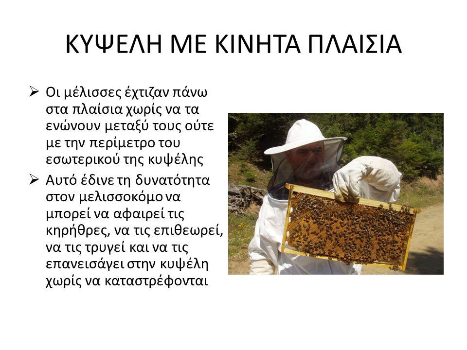 ΤΟ ΚΑΠΝΙΣΤΗΡΙ • Απο τότε που ο άνθρωπος έμαθε να εκμεταλλεύεται την μέλισσα και τα προϊόντα της (πρίν την κατασκευή των πρώτων κυψελών) γνώριζε την κατευναστική επίδραση του καπνού στις μέλισσες