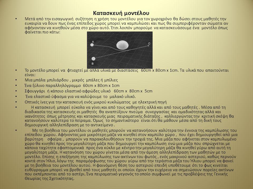 Εκπαιδευτική προσέγγιση • Ιστορική αναδρομή που θα περιλαμβάνει την κατάσταση που βρισκόταν η Φυσική στις αρχές του 20ου αιώνα, όταν η κλασική Μηχανικ