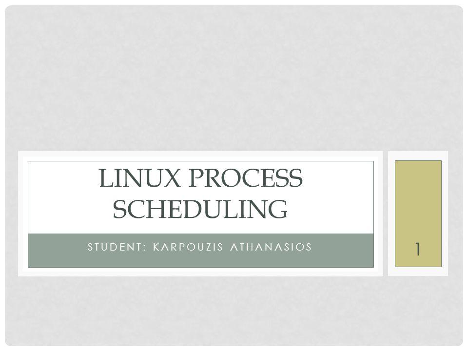 Συναρτήσεις που χρησιμοποιούνται από τον χρονοδρομολογητή (13) schedule( ) (2.4) • struct schedule_data { • struct task_struct * curr; • cycles_t last_schedule; • } schedule_data; • char __pad [SMP_CACHE_BYTES]; • Πολύ απλή δομή • Ορίζεται στο αρχείο sched.c • Περιέχει το time stamp της τελευταίας αλλαγής διεργασίας • Περιέχει επίσης ένα δείκτη στην διεργασία που τρέχει.