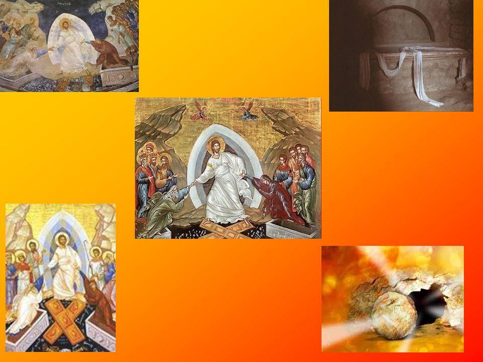 Το Πάσχα •Πάσχα ονομάζεται η μεγάλη γιορτή του ιουδαϊσμού η οποία καθιερώθηκε ως ανάμνηση της Εξόδου, που ελευθέρωσε τους Εβραίους από την αιγυπτιακή δουλεία.[1] Μεταγενέστερα υιοθετήθηκε ως εορτασμός από τους Χριστιανούς αναφορικά με τον θυσιαστικό θάνατο και την ανάσταση του Ιησού Χριστού.[2]ιουδαϊσμούΕξόδου[1]Ιησού Χριστού[2] •Το γεγονός της απελευθέρωσης αυτής συνέβη με μια σειρά θεϊκών προνοιακών παρεμβάσεων, από τις οποίες η σημαντικότερη εκδηλώνεται τη νύχτα κατά την οποία θα εξολοθρεύονταν τα πρωτότοκα των ανθρώπων και των ζώων των Αιγυπτίων, ενώ τα σπίτια των Εβραίων θα προστατεύονταν αφού οι πόρτες τους είχαν σημαδευτεί με το αίμα του αρνιού που είχαν θυσιάσει.