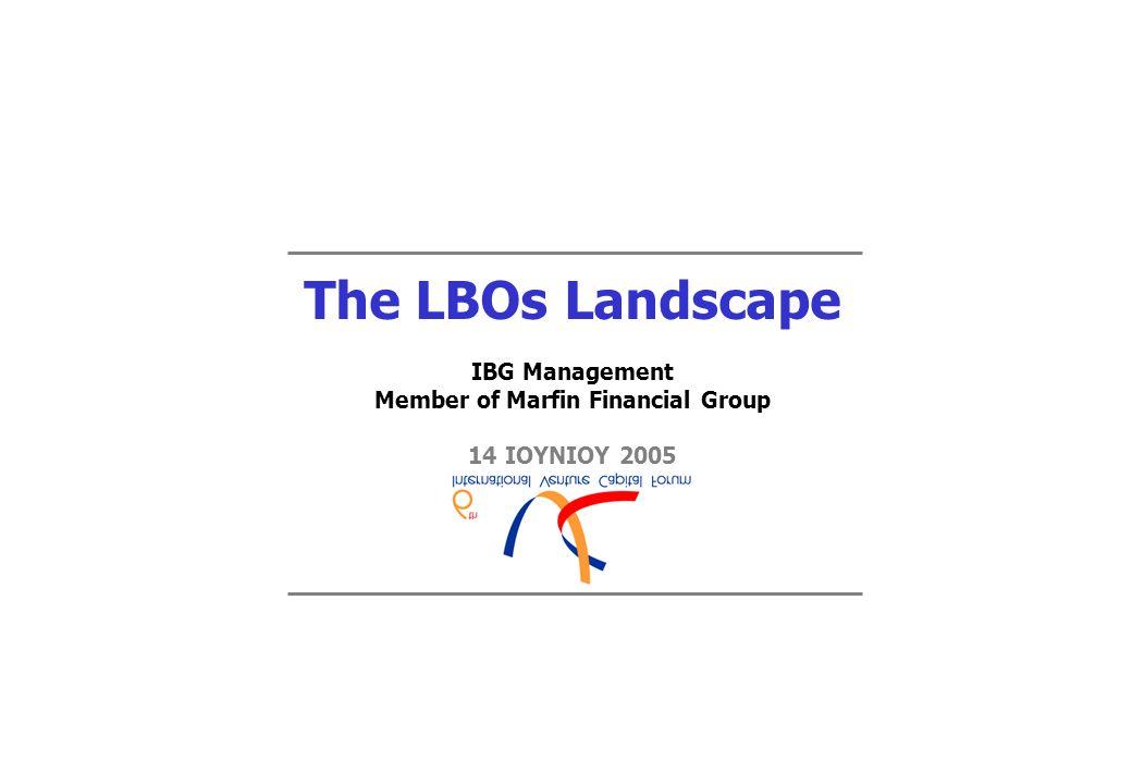 Ταυτότητα IBG Management  Διαχειρίστρια εταιρία του Κεφαλαίου Επιχειρηματικών Συμμετοχών IBG Hellenic Fund ΙΙ.