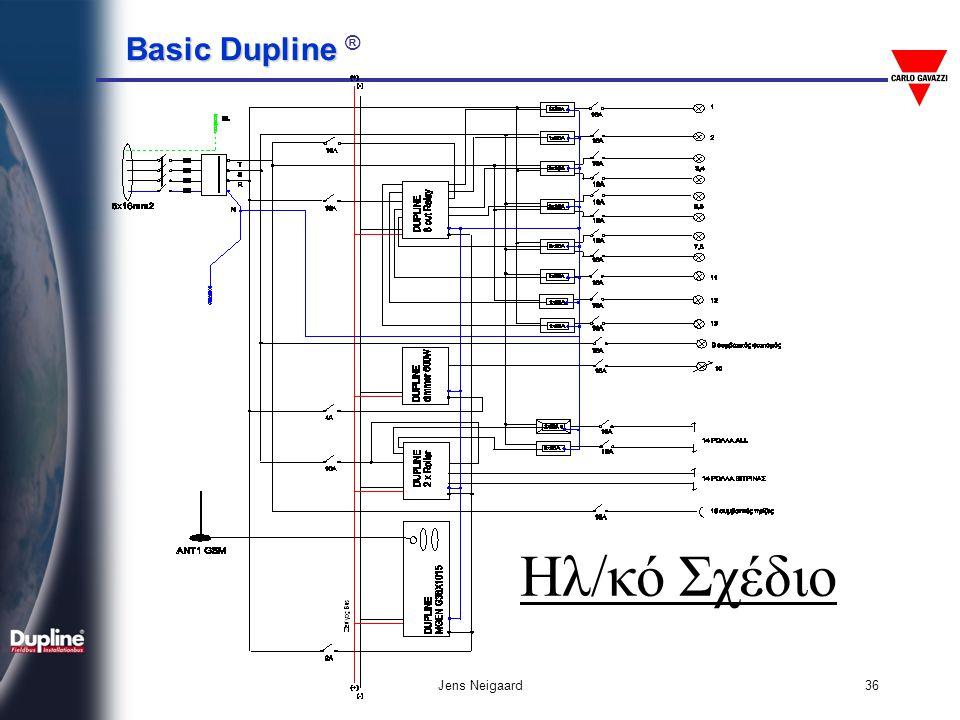 Basic Dupline Basic Dupline ® Jens Neigaard36 Ηλ/κό Σχέδιο
