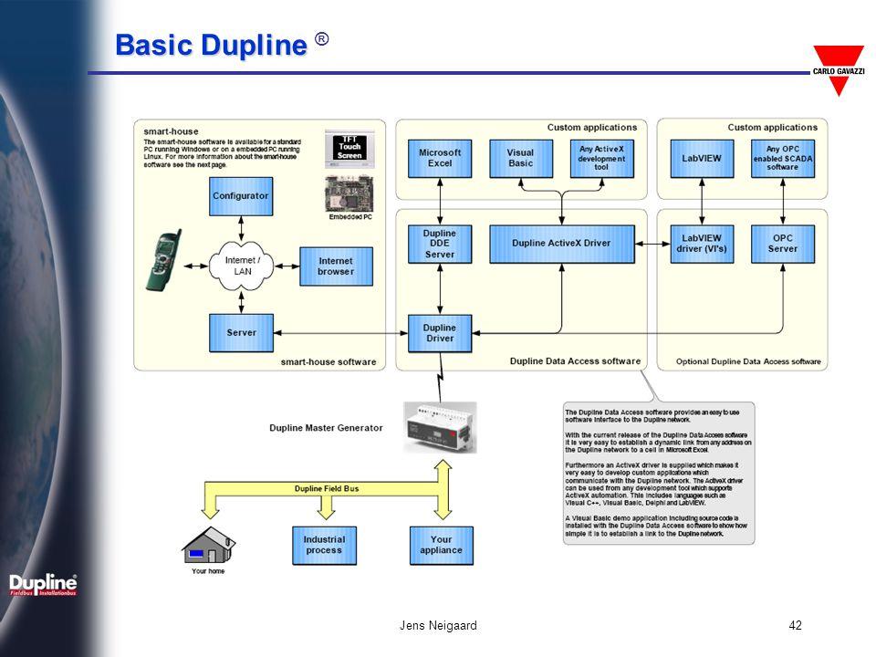 Basic Dupline Basic Dupline ® Jens Neigaard42