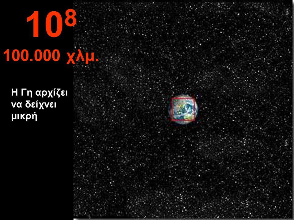Το βόρειο ημισφαίριο της Γης και τμήμα της Λατινικής Αμερικής 10 7 10.000 χλμ.