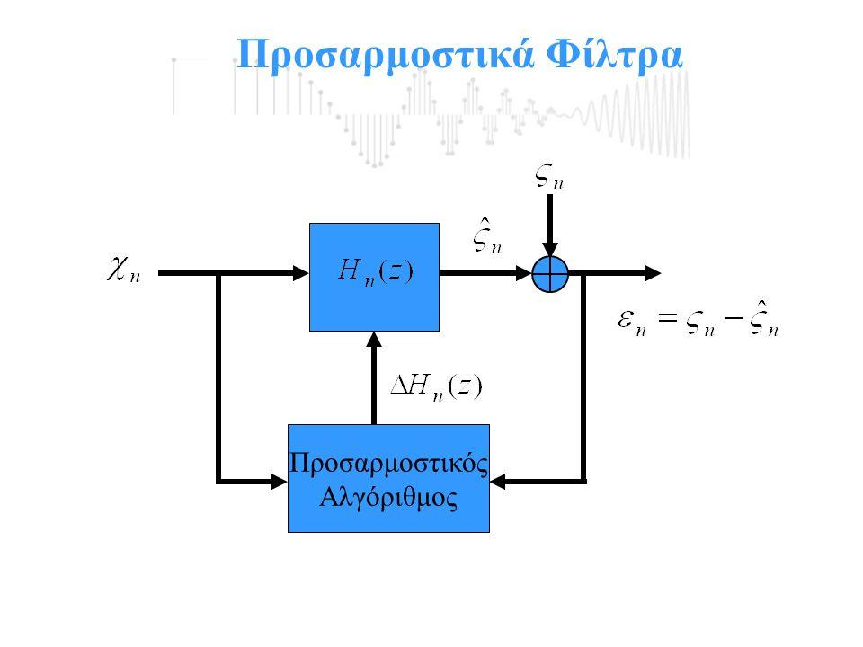 Προσαρμοστικά Φίλτρα Προσαρμοστικός Αλγόριθμος