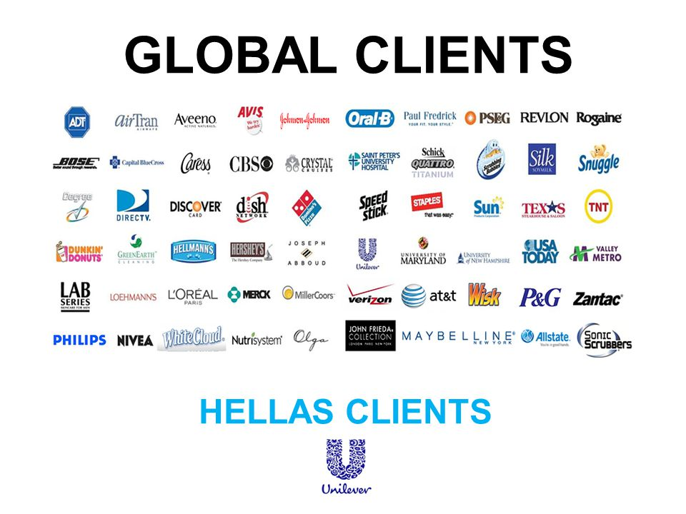 GLOBAL CLIENTS HELLAS CLIENTS