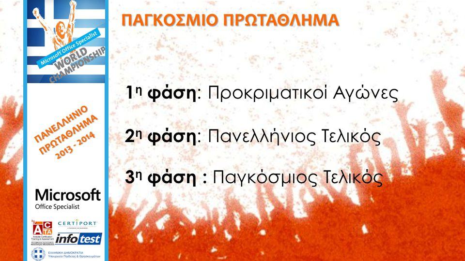 ΠΑΓΚΟΣΜΙΟΣ ΤΕΛΙΚΟΣ  Η συμμετοχή της Ελλάδας είναι δεδομένη στον Παγκόσμιο Τελικό.