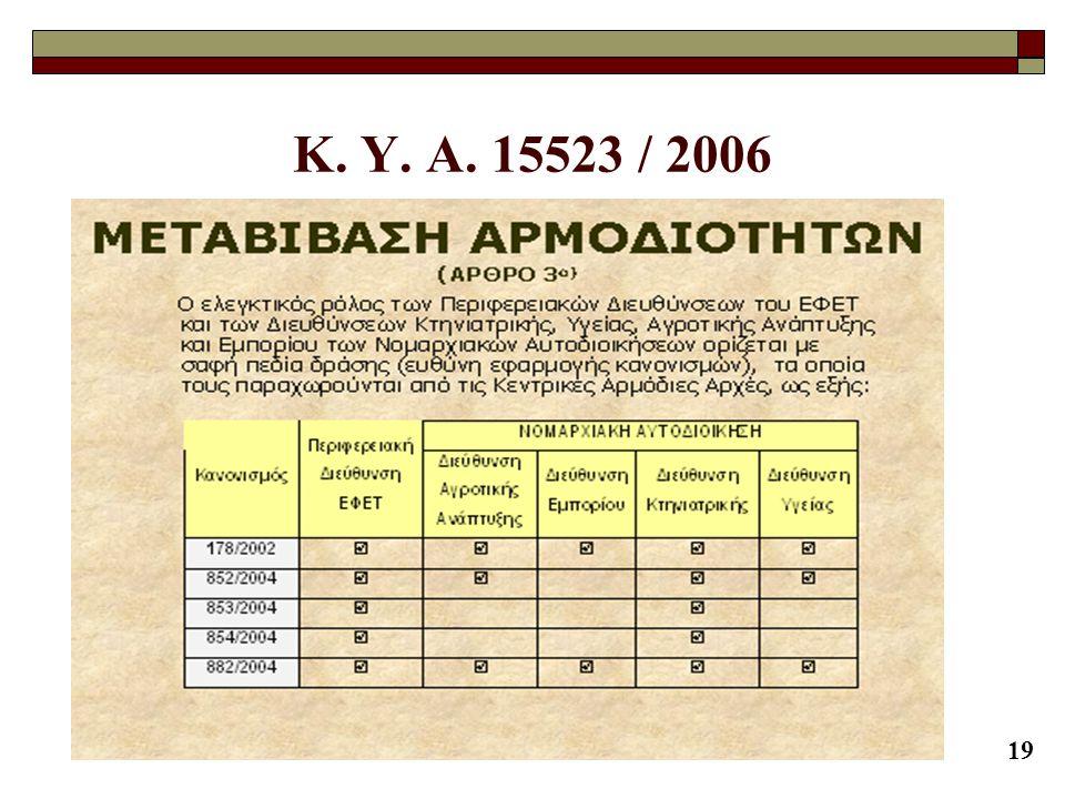 19 K. Y. A. 15523 / 2006