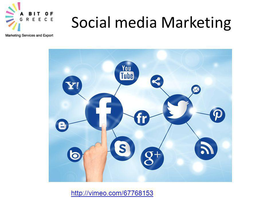 Social media Marketing http://vimeo.com/67768153