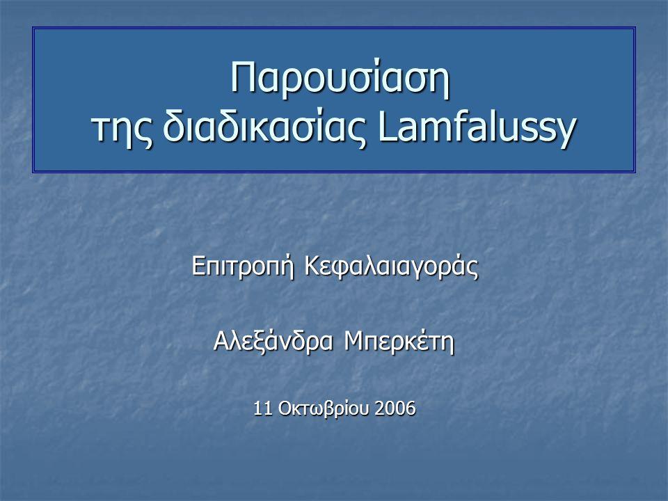 Μάϊος 1999: Η Ευρωπαϊκή Επιτροπή καταρτίζει Πρόγραμμα Δράσης για την ενιαία αγορά Χρηματοπιστωτικών Υπηρεσιών (ΠΔΧΥ).