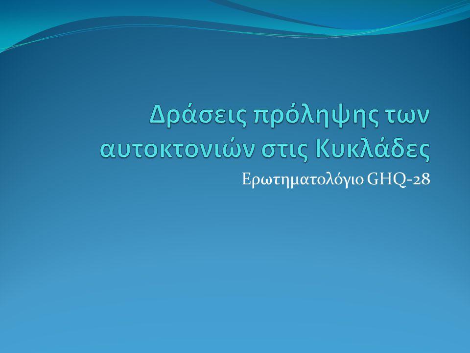 Ερωτηματολόγιο GHQ-28