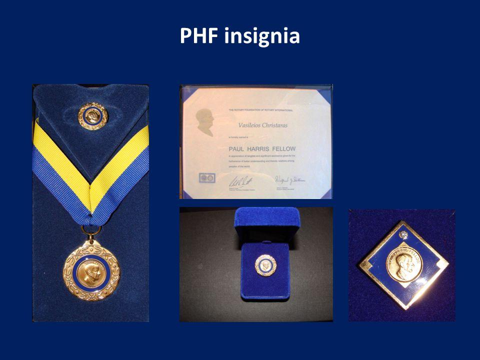 PHF insignia