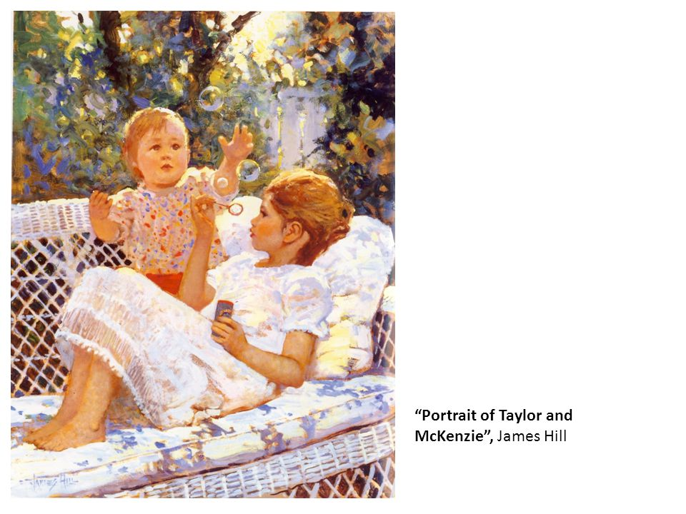 """""""Portrait of Taylor and McKenzie"""", James Hill"""